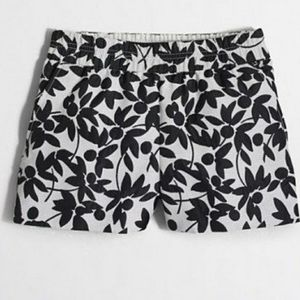 JCrew board shorts on black and white sz 2